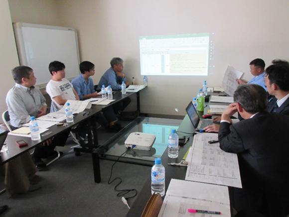 日本人事総研の皆様と評価制度の打合せをしました。